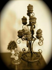 Cupcake Candelabra